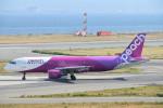 turenoアカクロさんが、関西国際空港で撮影したピーチ A320-214の航空フォト(写真)