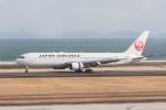岡崎美合さんが、大分空港で撮影した日本航空 767-346/ERの航空フォト(写真)