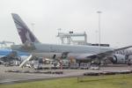 panchiさんが、アムステルダム・スキポール国際空港で撮影したカタール航空 777-3DZ/ERの航空フォト(写真)