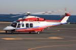 VICTER8929さんが、横浜ヘリポートで撮影した横浜市消防航空隊 AW139の航空フォト(写真)