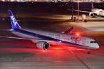 こむぎさんが、羽田空港で撮影した全日空 787-9の航空フォト(写真)