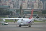 hirokongさんが、台北松山空港で撮影したトランスアジア航空 ATR-72-600の航空フォト(写真)
