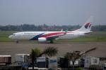 Koba UNITED®さんが、スカルノハッタ国際空港で撮影したマレーシア航空 737-8H6の航空フォト(写真)