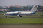 Koba UNITED®さんが、スカルノハッタ国際空港で撮影したアビアスター BAe-146-200の航空フォト(写真)
