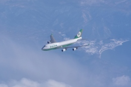 sky77さんが、新千歳空港で撮影したエバー航空 747-45Eの航空フォト(写真)
