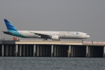 A350XWB-HNDさんが、羽田空港で撮影したガルーダ・インドネシア航空 777-3U3/ERの航空フォト(写真)