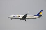 A350XWB-HNDさんが、羽田空港で撮影したスカイマーク 737-8FZの航空フォト(写真)