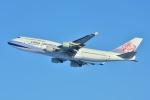 sky77さんが、新千歳空港で撮影したチャイナエアライン 747-409の航空フォト(写真)
