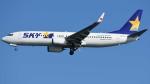 ゆっちゃんずさんが、羽田空港で撮影したスカイマーク 737-86Nの航空フォト(写真)
