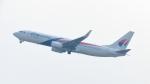 誘喜さんが、スカルノハッタ国際空港で撮影したマレーシア航空 737-8H6の航空フォト(写真)