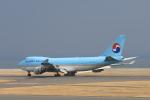 Fukutaroさんが、北九州空港で撮影した大韓航空 747-4B5F/ER/SCDの航空フォト(写真)