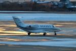 E-75さんが、函館空港で撮影した毎日新聞社 525A Citation CJ2の航空フォト(写真)