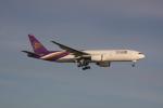 しかばねさんが、スワンナプーム国際空港で撮影したタイ国際航空 777-2D7/ERの航空フォト(写真)