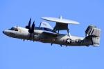Flankerさんが、厚木飛行場で撮影したアメリカ海軍 E-2Cの航空フォト(写真)