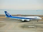 raiden0822さんが、羽田空港で撮影した全日空 747-481(D)の航空フォト(写真)
