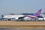 トロピカルさんが、成田国際空港で撮影したタイ国際航空 777-2D7の航空フォト(写真)
