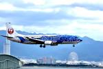 we love kixさんが、関西国際空港で撮影した日本トランスオーシャン航空 737-4Q3の航空フォト(写真)