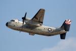 チャッピー・シミズさんが、厚木飛行場で撮影したアメリカ海軍 C-2 Greyhoundの航空フォト(写真)