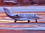 Airway-japanさんが、函館空港で撮影した毎日新聞社 525A Citation CJ2の航空フォト(写真)