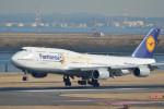 ぼういんぐべえすさんが、羽田空港で撮影したルフトハンザドイツ航空 747-830の航空フォト(写真)