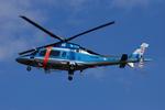 へりさんが、東京ヘリポートで撮影した警視庁 A109E Powerの航空フォト(写真)