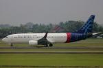 Koba UNITED®さんが、スカルノハッタ国際空港で撮影したスリウィジャヤ航空 737-86Qの航空フォト(写真)