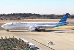 masa707さんが、成田国際空港で撮影したガルーダ・インドネシア航空 777-3U3/ERの航空フォト(写真)