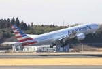 masa707さんが、成田国際空港で撮影したアメリカン航空 777-223/ERの航空フォト(写真)