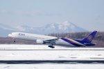 kitayocchiさんが、新千歳空港で撮影したタイ国際航空 777-3D7の航空フォト(写真)