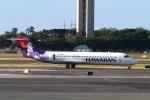 sky-spotterさんが、ホノルル国際空港で撮影したハワイアン航空 717-22Aの航空フォト(写真)