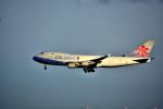 we love kixさんが、関西国際空港で撮影したチャイナエアライン 747-409F/SCDの航空フォト(写真)