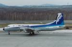 プルシアンブルーさんが、釧路空港で撮影したエアーニッポン YS-11A-500の航空フォト(写真)