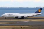 masa707さんが、羽田空港で撮影したルフトハンザドイツ航空 747-830の航空フォト(写真)