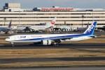 masa707さんが、羽田空港で撮影した全日空 777-381/ERの航空フォト(写真)