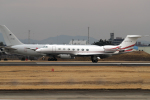 AkiChup0nさんが、名古屋飛行場で撮影したアメリカ個人所有 G-V-SP Gulfstream G550の航空フォト(写真)
