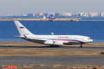 たまさんが、羽田空港で撮影したロシア航空 Il-96-300の航空フォト(写真)