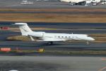 たまさんが、羽田空港で撮影したルクスアヴィエーション G-V-SP Gulfstream G550の航空フォト(写真)