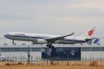 こだしさんが、成田国際空港で撮影した中国国際航空 A330-343Xの航空フォト(写真)