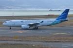 amagoさんが、関西国際空港で撮影したガルーダ・インドネシア航空 A330-243の航空フォト(写真)