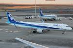 プリン賢さんが、羽田空港で撮影した全日空 A321-211の航空フォト(写真)