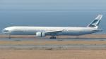 誘喜さんが、関西国際空港で撮影したキャセイパシフィック航空 777-367の航空フォト(写真)