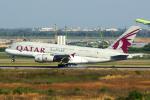 Mar Changさんが、スワンナプーム国際空港で撮影したカタール航空 A380-861の航空フォト(写真)