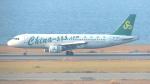誘喜さんが、関西国際空港で撮影した春秋航空 A320-214の航空フォト(写真)