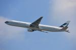 ktaroさんが、香港国際空港で撮影したキャセイパシフィック航空 777-367の航空フォト(写真)