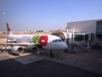 ken1☆MYJさんが、リスボン・ウンベルト・デルガード空港で撮影したTAP ポルトガル航空 A320-214の航空フォト(写真)