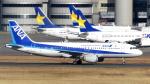 誘喜さんが、羽田空港で撮影した全日空 A320-211の航空フォト(写真)