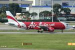 Koba UNITED®さんが、シンガポール・チャンギ国際空港で撮影したエアアジア A320-216の航空フォト(写真)