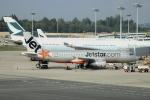 Koba UNITED®さんが、シンガポール・チャンギ国際空港で撮影したジェットスター・アジア A320-232の航空フォト(写真)