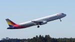 オキシドールさんが、成田国際空港で撮影したアシアナ航空 A321-231の航空フォト(写真)