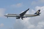 かずまっくすさんが、シンガポール・チャンギ国際空港で撮影したシンガポール航空 A330-343Xの航空フォト(写真)